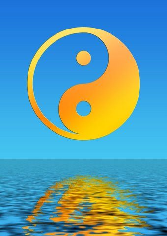 acupuncture works for stress relief Acupuncture Works For Stress Relief dreamstime 4243141 yin yang orange h20 340x480