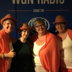 The Duggan Sisters and I at WGN Radio